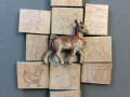 Block Goat - work by Audrey and Alejandro