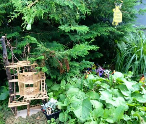treehouse fairy graden
