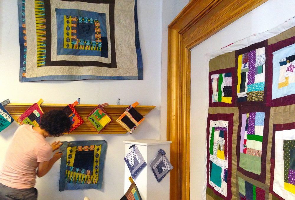 New Life Quilt Exhibit only up for one more week!
