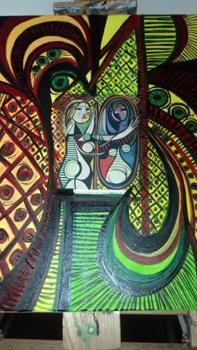 Nancy M. Gonzalez: Abstract Art Art