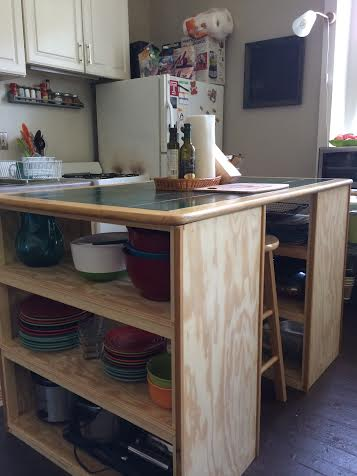 From Tabletop to Kitchen Island!