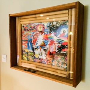 Michael Fares' Reclaimed wood frames
