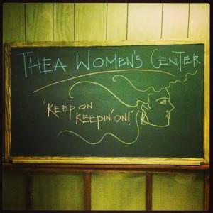 Reclaimed Classroom supplies for the Thea Bowman Women's Center