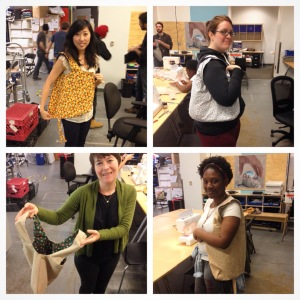 Sewing Class with Reclaimed Fabric!