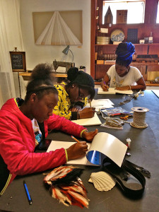 The Resource Exchange + Moore College Young Artists Workshop: Fashion Restyle Class!