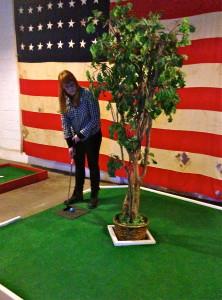 re staff visits Keystone Mini-Golf!