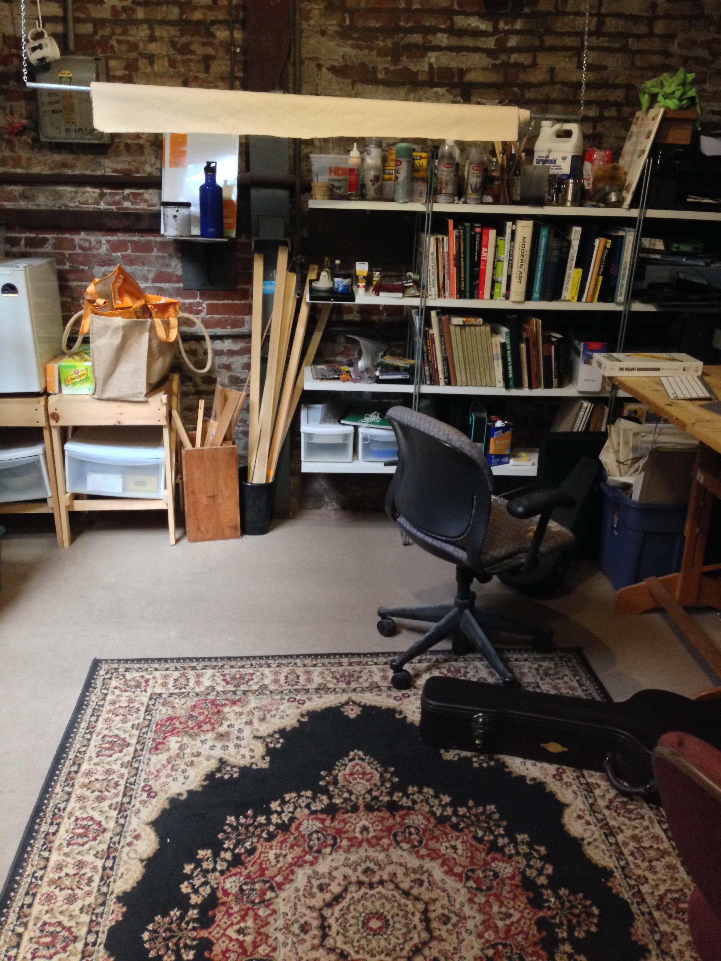 Eric's studio carpet