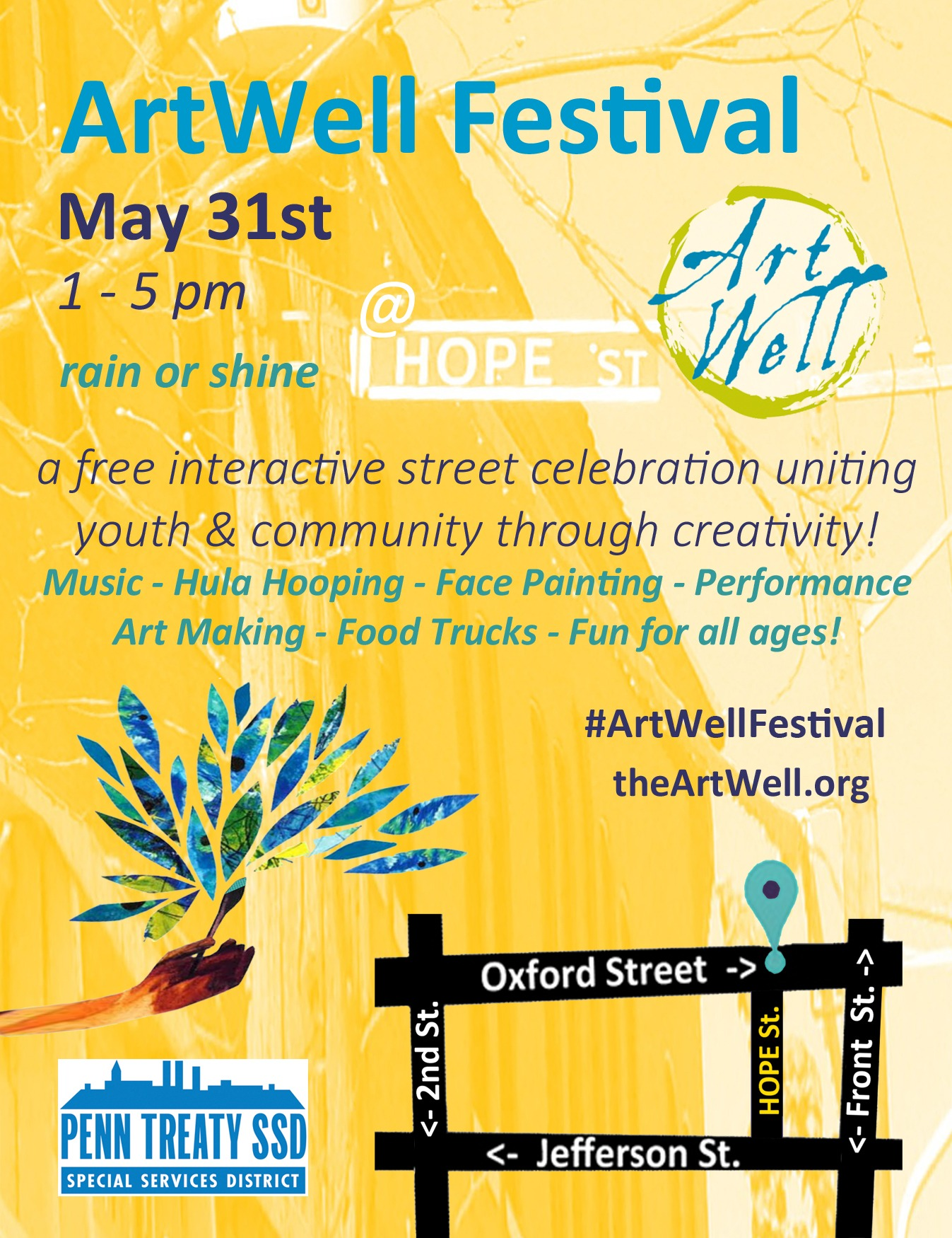 ArtWell Festival is this Sunday!