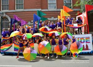 Philadelphia Gay Men's Chorus Float