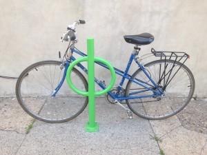 New Bike Racks at the re!