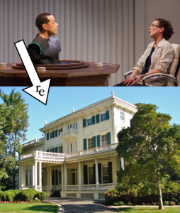 From the InterAct stage to us to the Glen Foerd Mansion!