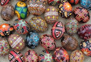Pysanky: Ukrainian Easter Eggs!