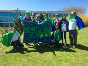 """""""Organ Donors Are Super Heros!"""": HelpHOPELive Celebrates Donate Life Day with Fabrics from the RE"""