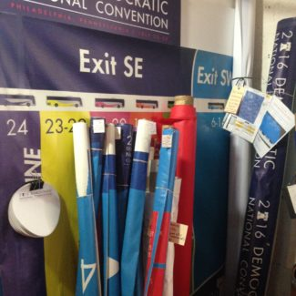 Sign and Banner materials