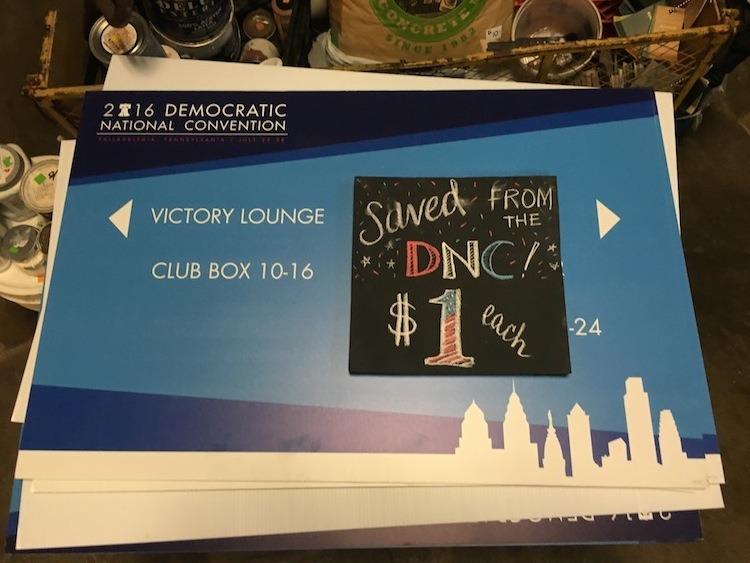 DNC signs 3