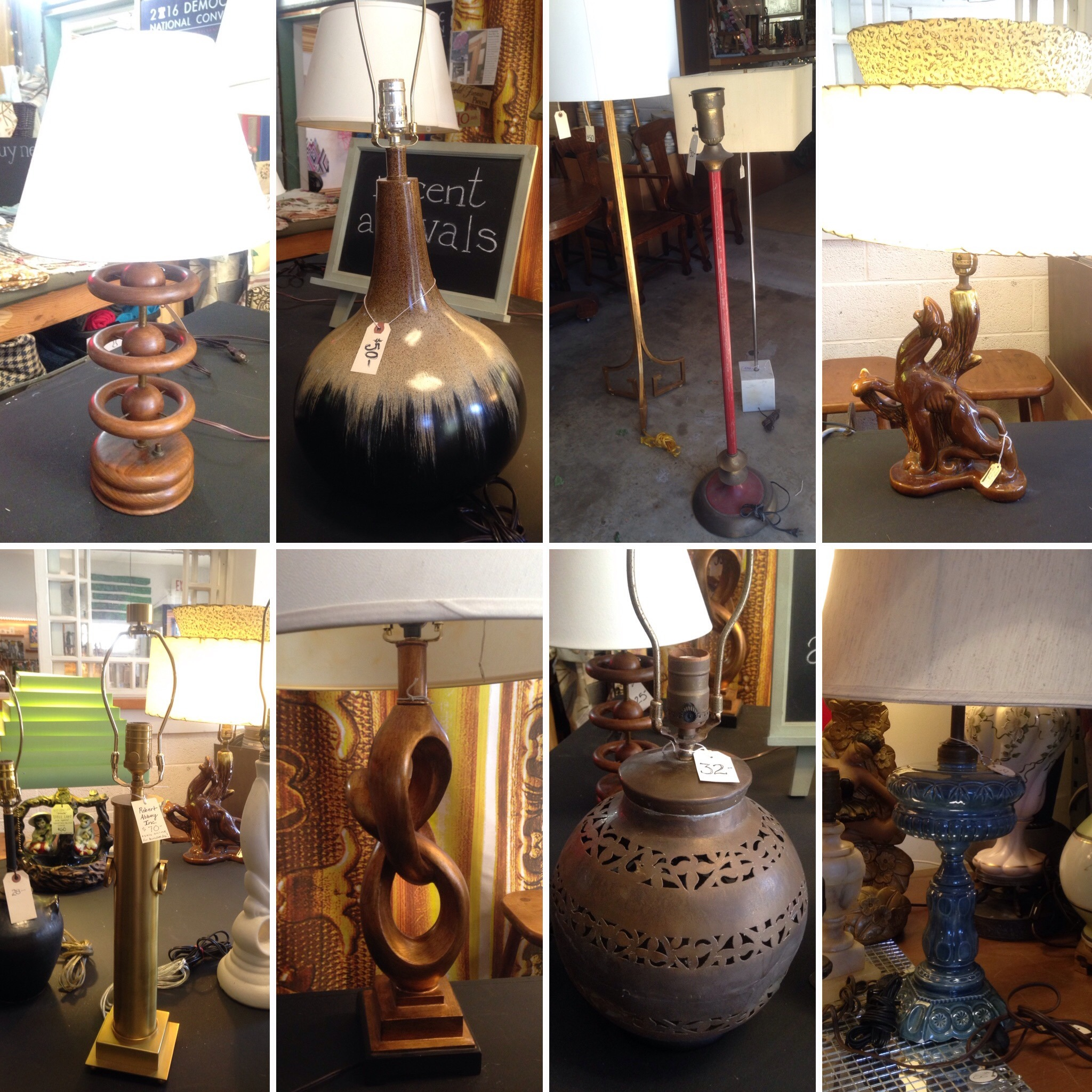 LAMPS collage