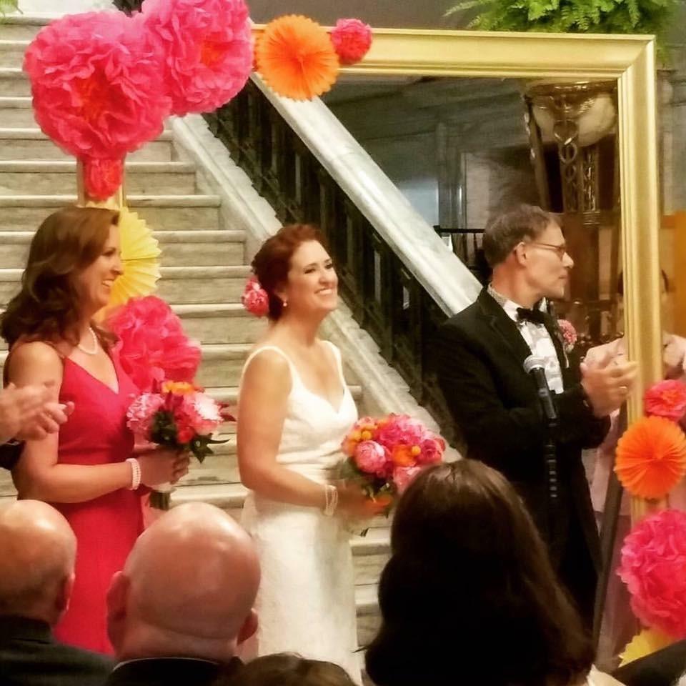 Reclaimed Moulding Gets A Wedding Makeover