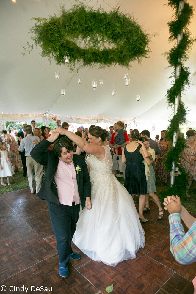 Weddings + Creative Reuse: A perfect marriage