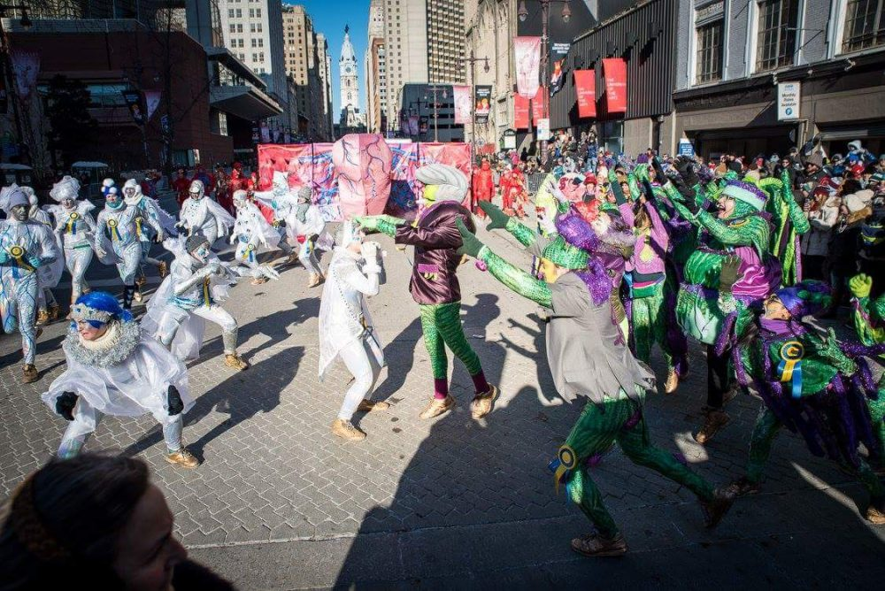 Creative Reuse at the Mummers Parade