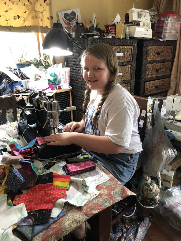 """""""Days for Girls"""" Langhorne PA Team Uses Reclaimed Fabric to Create Hygiene Kits for Girls"""