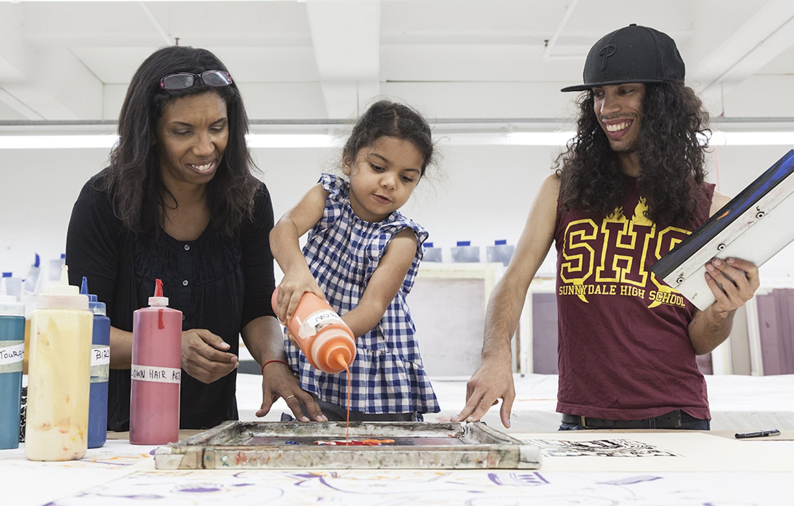 Creative Reuse with The Fabric Workshop and Museum Family Programs!