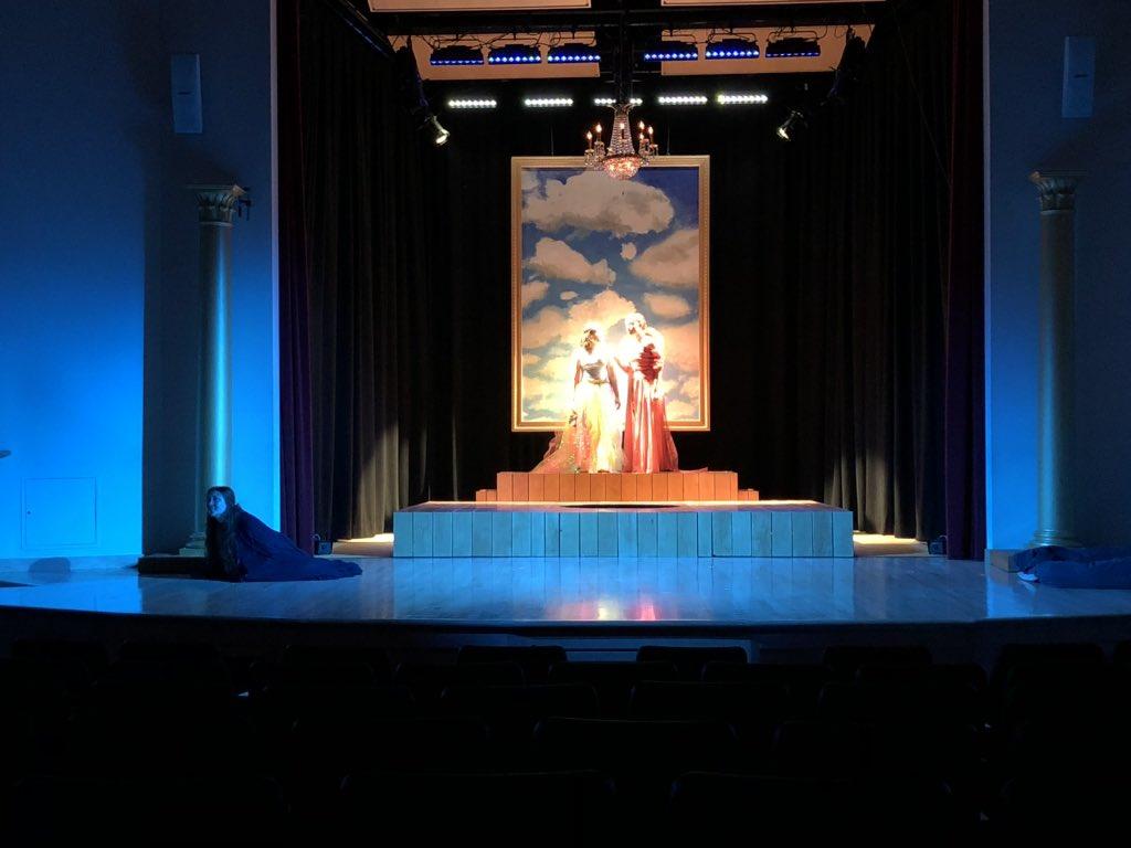 FSS Theatre 'Metamorphoses' + Salvaged Scenery Columns