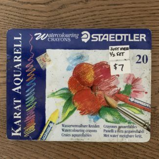 Staedtler Watercolor Crayons – Partial Set