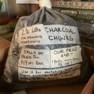 Charcoal Chunks – 2 1/2 lbs