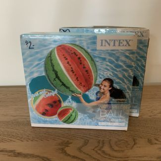 Inflatable Watermelon Ball/Pool Float