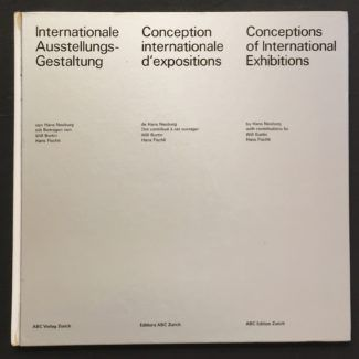 """Concepts of International Exhibits"" by Hans Neuburg"